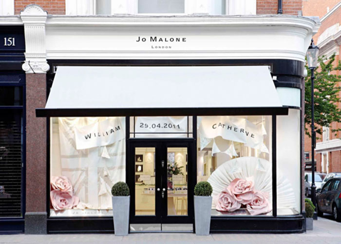 Jo Malone – Royal Wedding Window