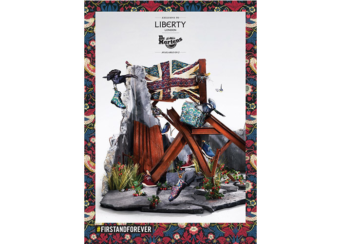 Liberty / Dr Martens collaboration – Flags