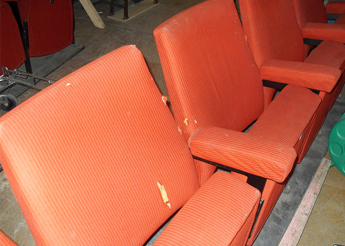 Cinema Seat covers & restoration